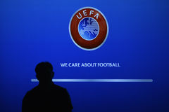 UEFA seminar Royalty Free Stock Photography