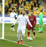 UEFA verdedigt de Dynamo Kyiv v van het Ligaspel FC Besiktas Royalty-vrije Stock Fotografie