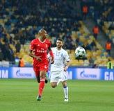 UEFA verdedigt Liga: FC dynamo Kyiv v Benfica Royalty-vrije Stock Foto's