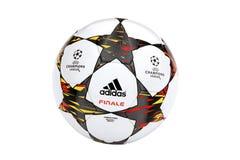 UEFA verdedigt Ligabal Stock Fotografie