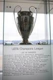 UEFA verdedigt Ligatrofee Royalty-vrije Stock Foto