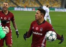 UEFA verficht Punktspiel-FC Dynamo Kyiv V Besiktas Lizenzfreies Stockbild