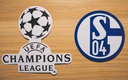 UEFA Wstawia się Liga fotografia stock