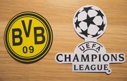 UEFA Wstawia się Liga zdjęcie stock