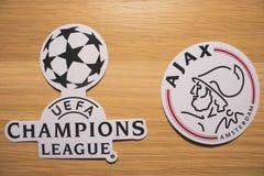 UEFA Wstawia się Liga fotografia royalty free