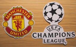UEFA Wstawia się Liga obraz royalty free