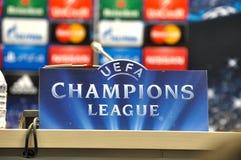 UEFA Wstawia się Liga Obrazy Royalty Free