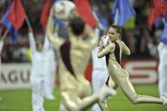 UEFAeuropa-Liga abschließendes Bucharest 2012 Stockfotografie