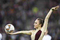 UEFAeuropa-Liga abschließendes Bucharest 2012 Lizenzfreie Stockfotos