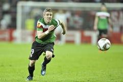 UEFAeuropa-Liga abschließendes Bucharest 2012 Lizenzfreies Stockbild