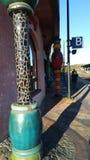 UELZEN, ГЕРМАНИЯ Станция на железнодорожном вокзале Uelzen, Германии Стоковые Фотографии RF
