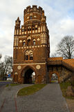 Uenglinger Gate. Gate of the former ramparts of the town of Stendal. The late-Gothic building was built from 1450 to 1460 stock photo