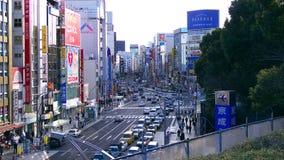 Ueno City street. A nice shot of the Main Street in Ueno Tokyo next to Ueno Park Stock Photography