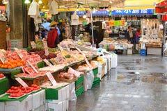 ueno för matjapan marknad Arkivfoton