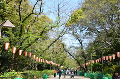 Ueno Park stock images