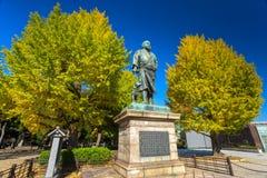 Ueno Park, Tokyo, Japan. General Saigō Takamori statue in Ueno Park, Tokyo, Japan Stock Photography