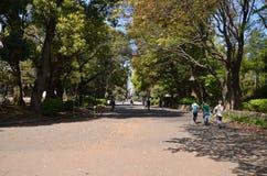 Ueno Park Tokyo Japan stock image