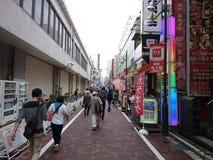 Ueno-Subventionsstraße Lizenzfreies Stockbild