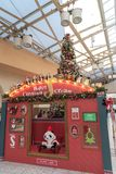 Ueno Tokyo, Japan - December 21 2018: JRUeno station arkivfoto