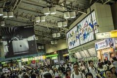 Ueno train station, Tokyo, Japan stock photo