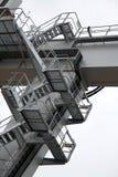 Äußeres Treppenhaus Stockfotografie