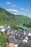 Uerzig,Mosel Valley,Germany Stock Image