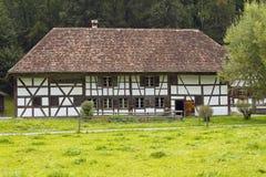 从Uesslingen TG (1568/1605)的农舍 免版税库存照片