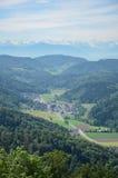 Uetliberg小山,瑞士苏黎士 免版税库存照片