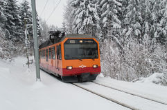 Uetliberg train Royalty Free Stock Image