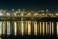 Ufa the capital of the Republic of Bashkortostan. Nightlife capital of Bashkortostan Ufa Stock Photos