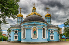 Ufa Church Nativity Blessed Virgin Russia  Siberia Stock Photography