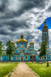 Ufa Church Nativity Blessed Virgin Russia  Siberia Royalty Free Stock Image