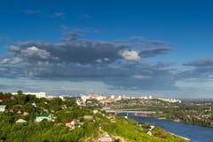 Ufa City Skyline Stock Image