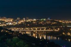 Ufa. Nightlife capital of Bashkortostan Ufa Stock Image