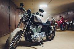 Ufa, Rosja, 2 Listopad, 2018: Harley Davidson motocykle 1997 zdjęcie royalty free