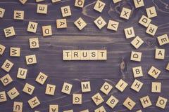 UFA słowo drewnianego blok na stole dla biznesowego pojęcia Zdjęcia Royalty Free