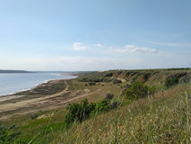 Ufer der Mündung Kuyalnik Lizenzfreie Stockfotografie