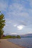 Ufer des Loch Stockfotografie
