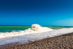 Ufer des Strandes Lizenzfreies Stockbild