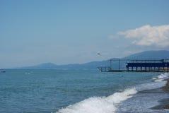Ufer Schwarzen Meers Stockfotos