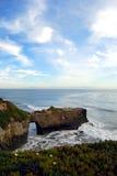 Ufer und Wellen Stockfotografie