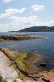 Ufer von tadoussac 2 Stockfoto