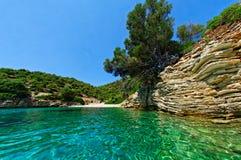 Ufer von Zakynthos lizenzfreie stockfotografie