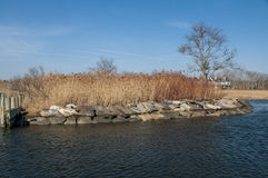 Ufergegend stockfotos