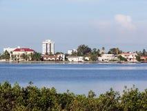 Ufergegend-Ansicht Stockbild
