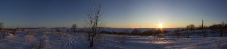 Ufergegend des Volga stockbilder