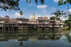 Ufergegend-Gemeinschaft Chanthaboon Stockfotografie