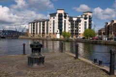 Ufergegend-Häuser lizenzfreie stockfotografie