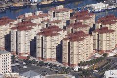 Ufergegend-Häuser Lizenzfreie Stockfotos