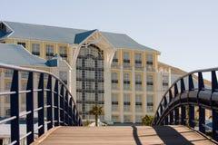 Ufergegend-Hotel Stockfotografie